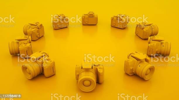 Yellow dslr cameras 3d illustration picture id1172584618?b=1&k=6&m=1172584618&s=612x612&h=aviqpfd yymqbsizb178 mkttmbo8chjp0i5tptdsyy=