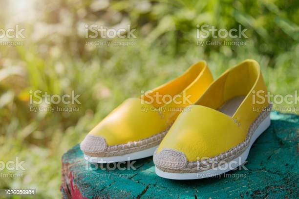 Yellow espadrilles in nature picture id1026056984?b=1&k=6&m=1026056984&s=612x612&h=pb73d 8f7dvskd8ca1m173ls0tpvdupvp2sm5my21r8=