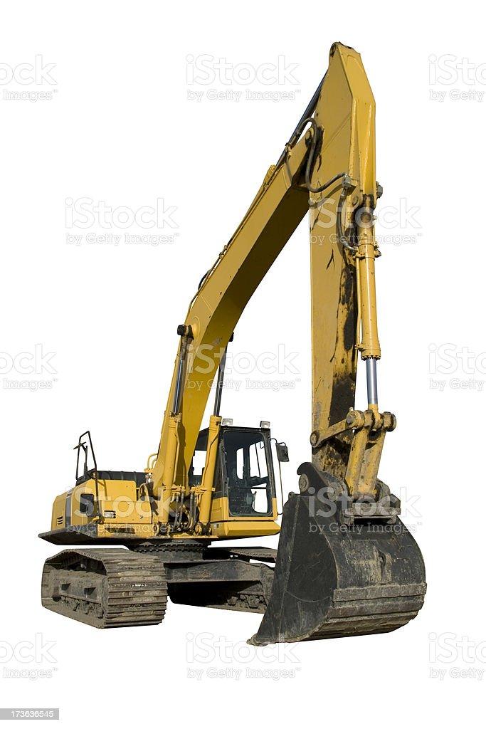 Gelbe Excavator im übrigen – Foto
