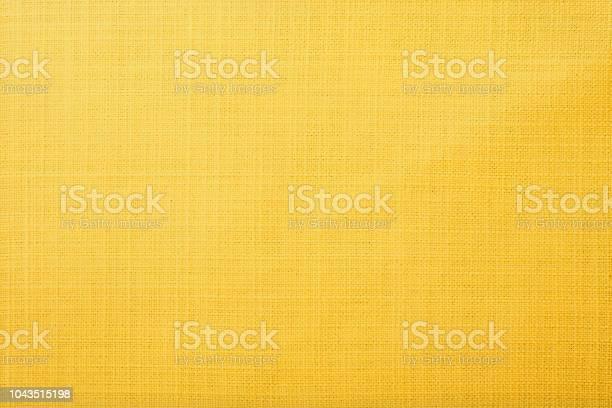 Photo of Yellow fabric background