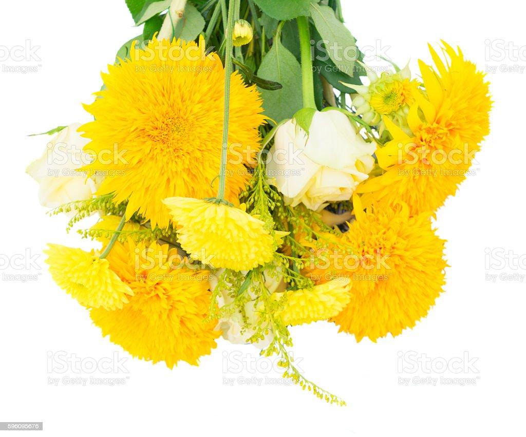 Yellow fall bouquet Lizenzfreies stock-foto