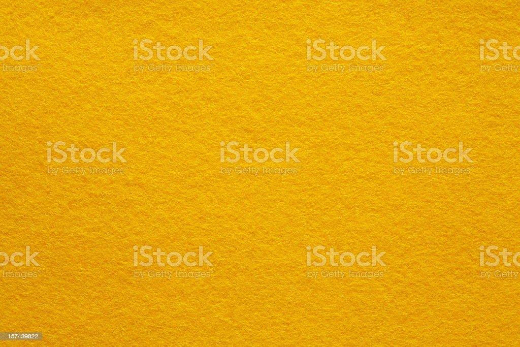 Yellow Felt background (part of series) stock photo