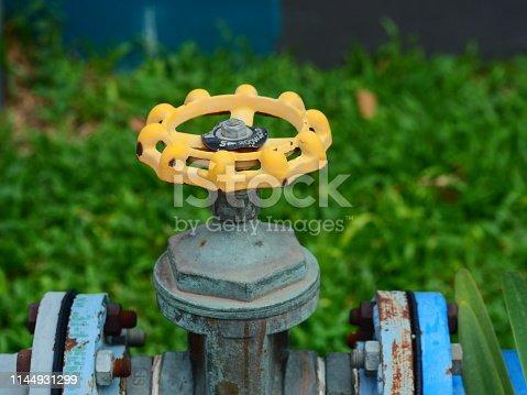 1132919452istockphoto Yellow gas pipeline valve 1144931299