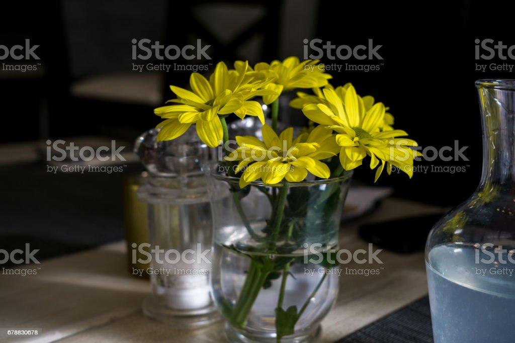 Yellow Gerbera flowers photo libre de droits
