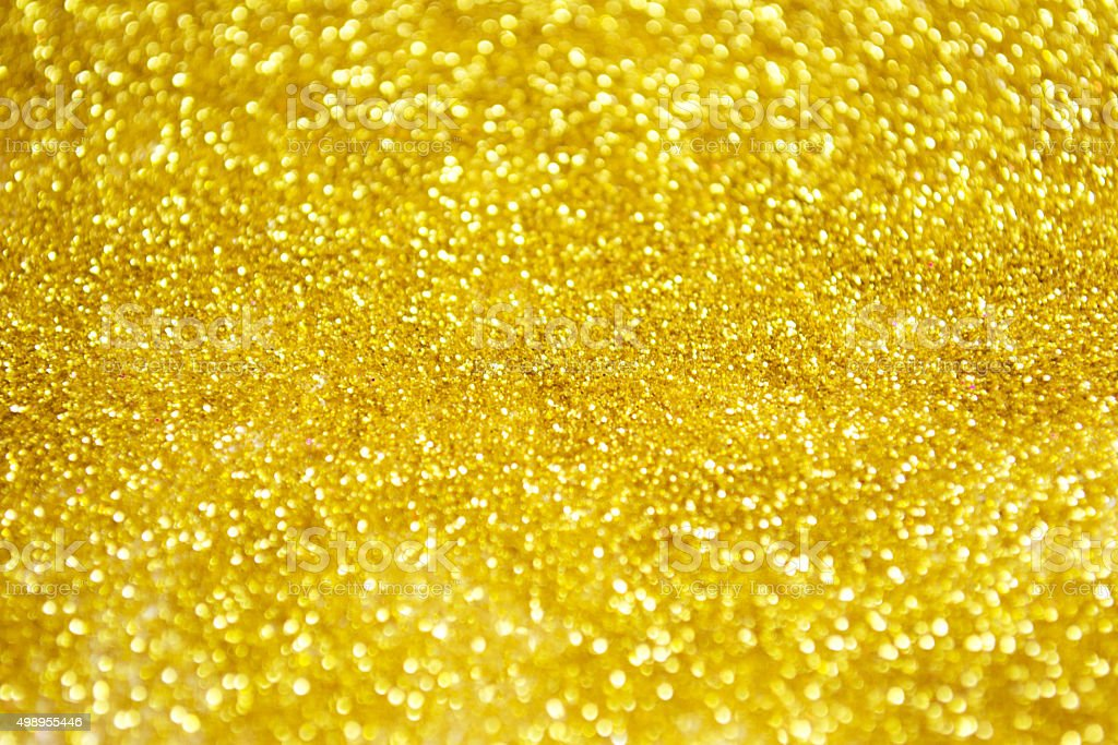 Yellow Glitter Texture Stock Photo & More Pictures of 2015 ...