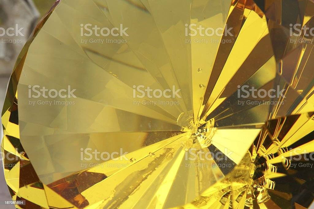 Yellow Gold Background royalty-free stock photo
