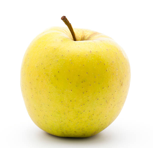 yellow golden apple - aluxum stock pictures, royalty-free photos & images