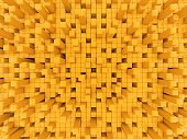 Yellow Greeble background