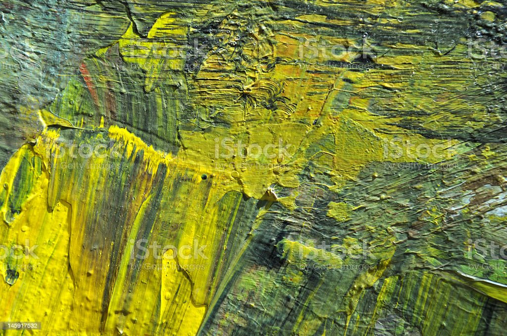 Yellow Green Texture royalty-free stock photo