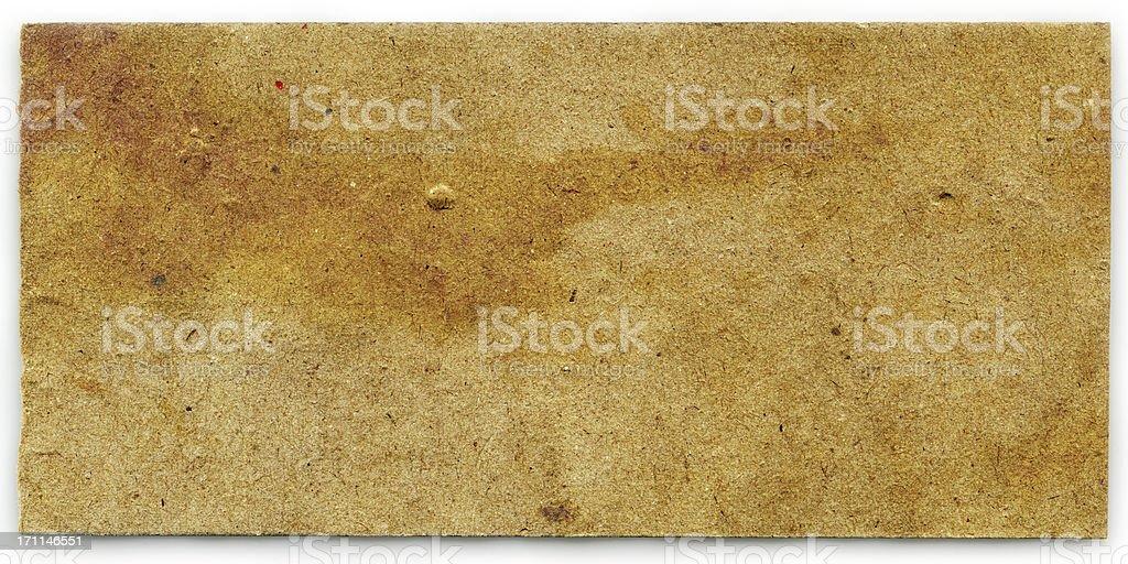 Yellow Grunge paper texture (XXXL) royalty-free stock photo