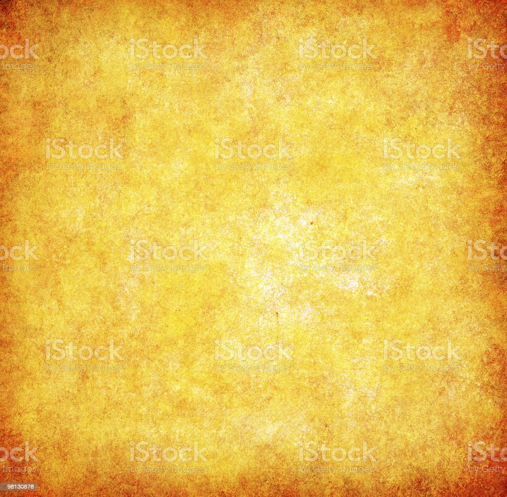yellow grunge textured abstract background royalty-free stock photo