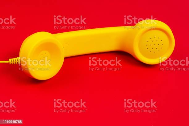 Yellow handset on a red background picture id1219949766?b=1&k=6&m=1219949766&s=612x612&h=mz7kezm8sr1vqown1gznuf5p2zej3lztzdsxbli5er8=