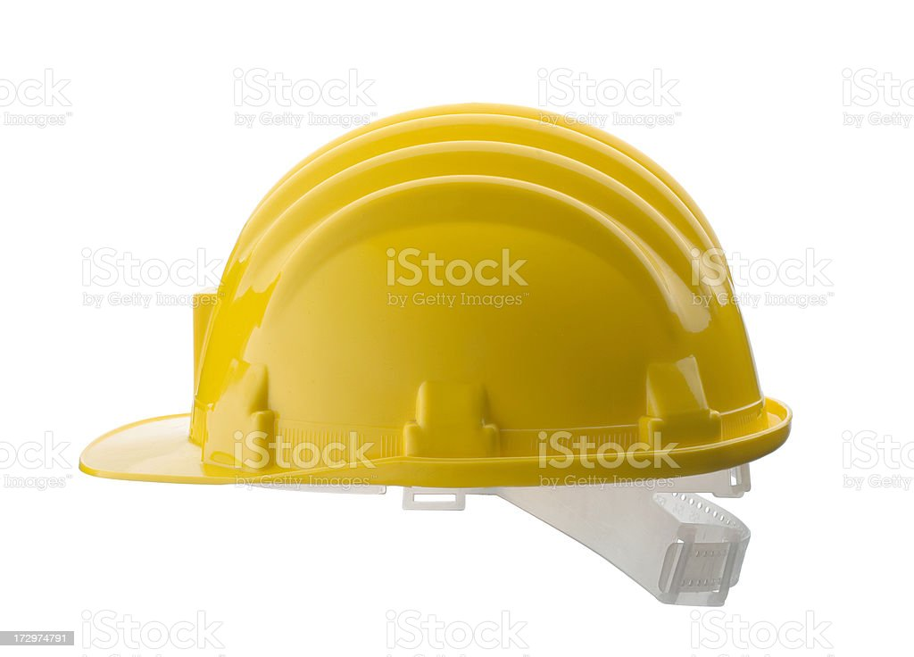 Yellow Hardhat royalty-free stock photo