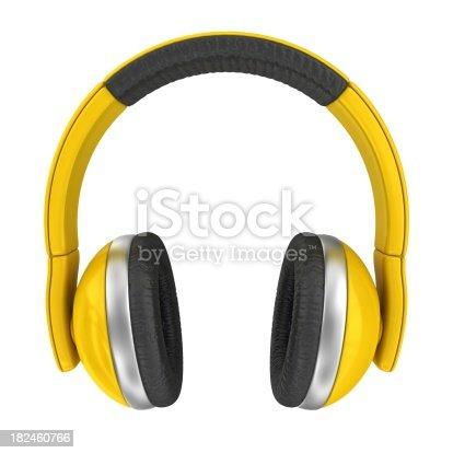 istock yellow headphones 182460766