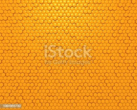 690198240istockphoto yellow honeycomb 1064955730