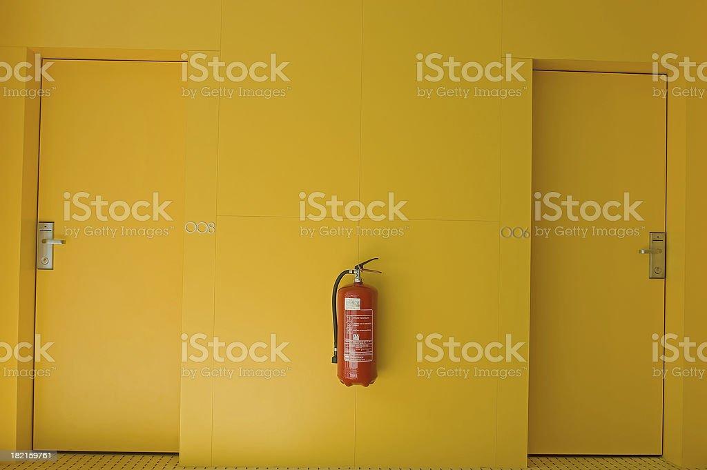 Gelbe Hotel Etage – Foto