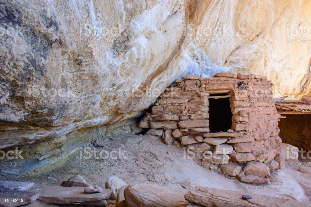 Yellow House Ruin - Utah, USA stock photo
