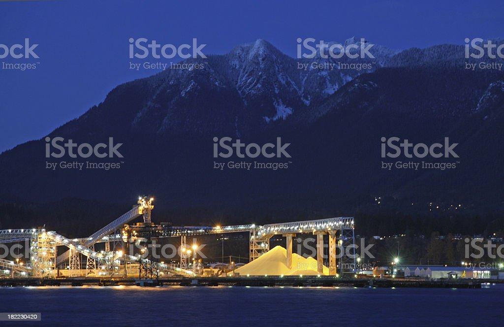 Yellow Industry stock photo
