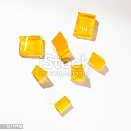 istock Yellow jelly 1199277725