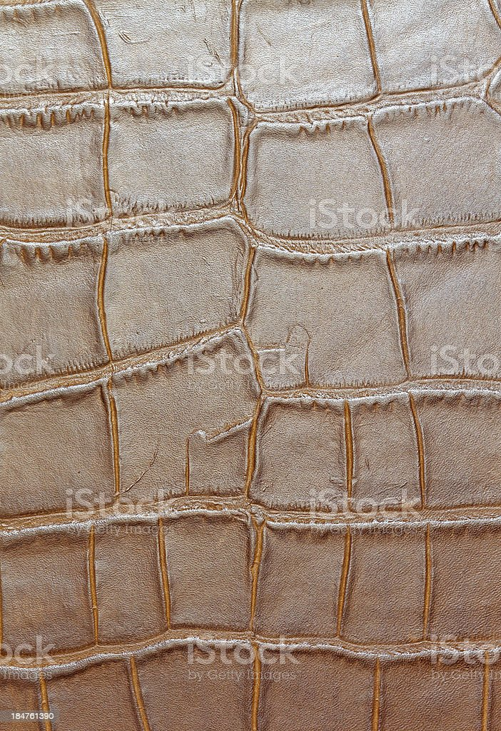 Yellow leather background royalty-free stock photo