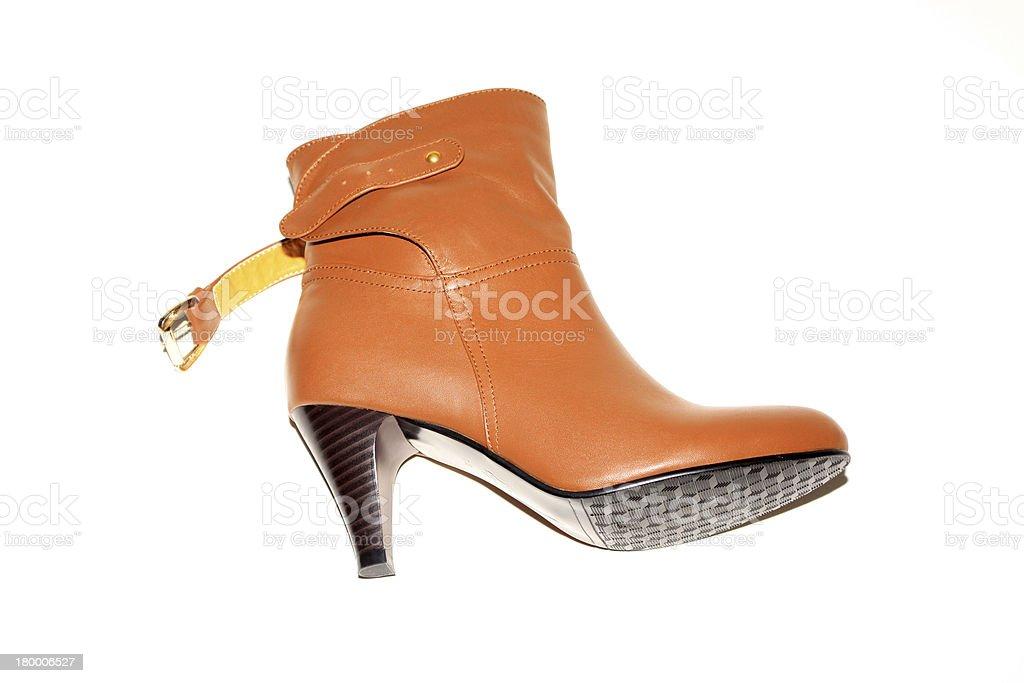 노란색 가죽 신발도 royalty-free 스톡 사진