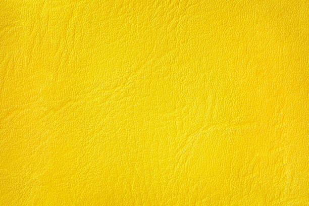 Cтоковое фото yellow leather texture background