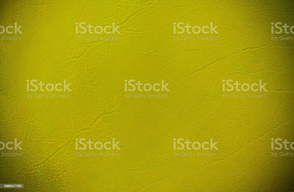 Yellow leather texture,vintage color tone royalty-free stock photo