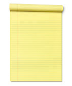 istock Yellow Legal Note Pad 1216250860