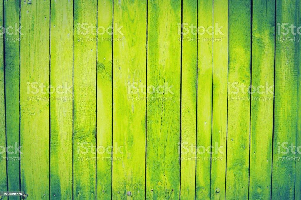 yellow, lemon old wooden fence. wood palisade background. planks texture - foto de acervo