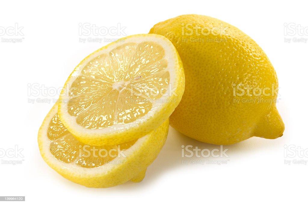 Yellow lemon royalty-free stock photo