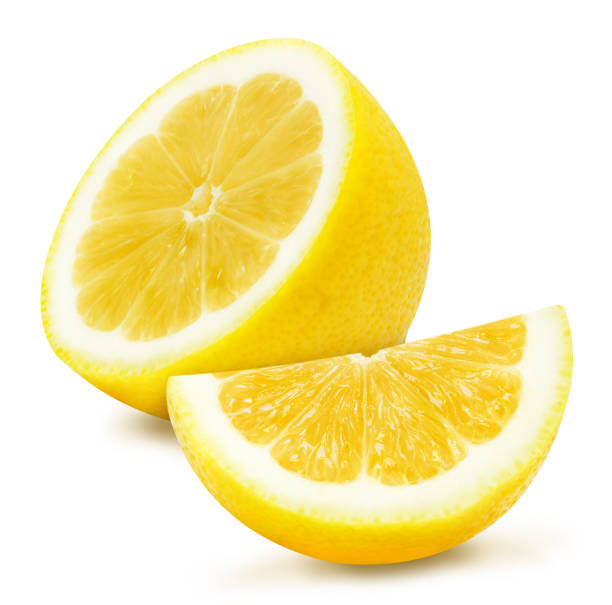 Yellow lemons composition. stock photo