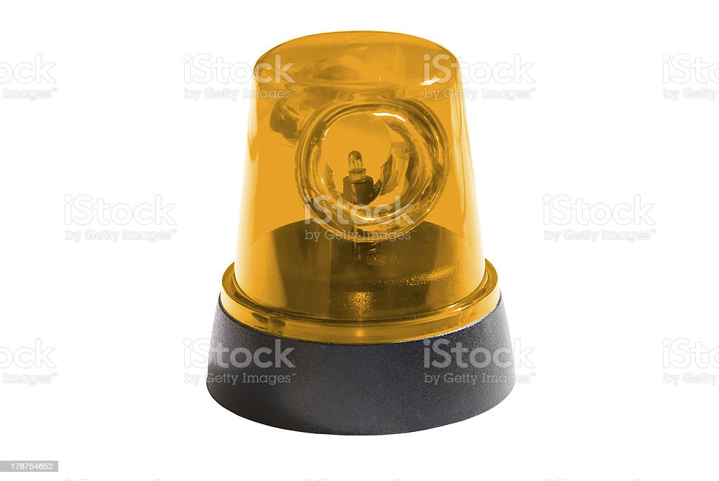 Yellow Light stock photo