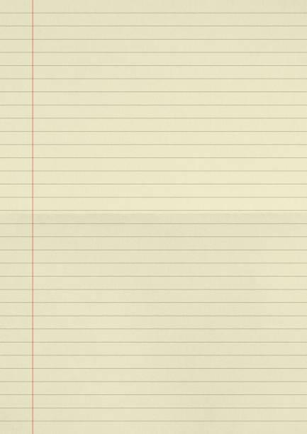 gula linjer papper textur bakgrund. - linjerat papper bakgrund bildbanksfoton och bilder