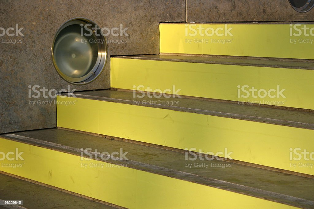 Yellow Lines royalty-free stock photo