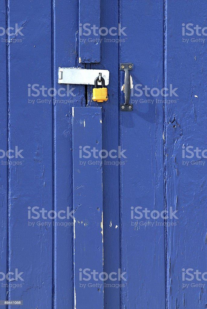Yellow Lock royalty-free stock photo