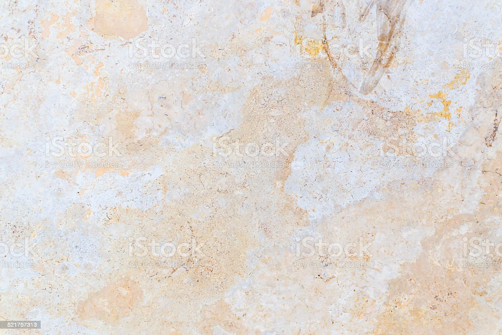 Yellow marble patterned texture background (natural color) stock photo