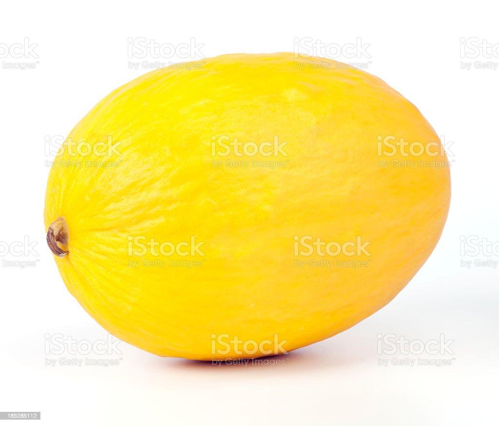 Yellow melon stock photo