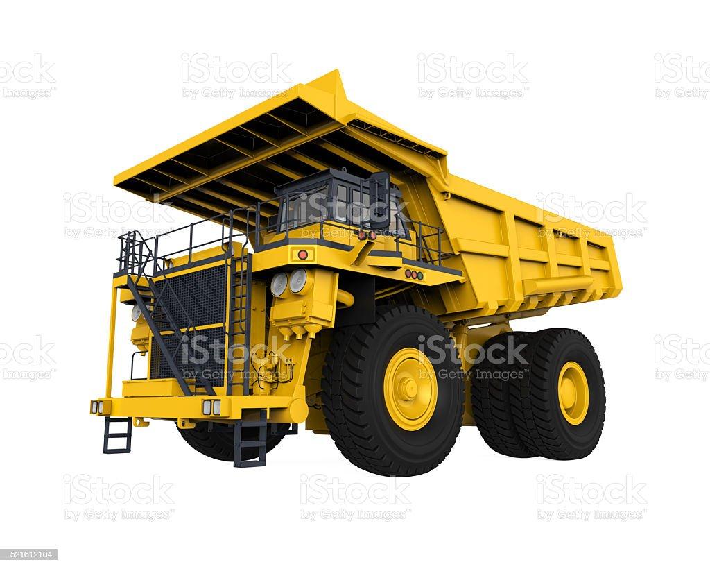 Gelb Mining Truck – Foto