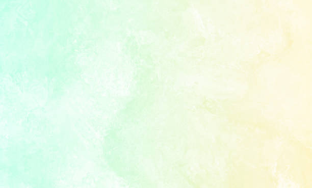 yellow mint green teal turquoise ombre grunge background pastel spring pattern abstract stone texture - kelly green stock pictures, royalty-free photos & images