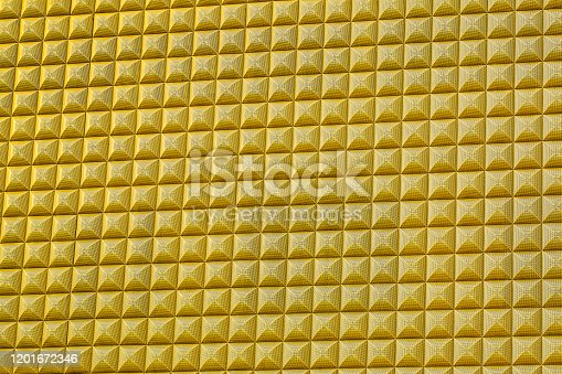 512401542istockphoto Yellow mosaic background 1201672346