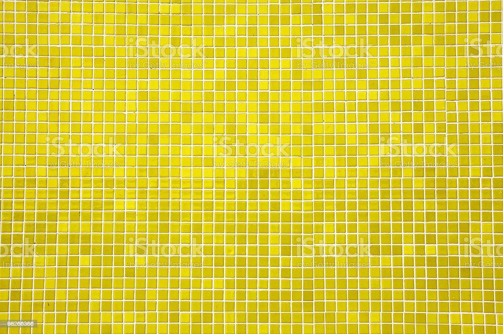 Mosaici giallo di foto stock royalty-free