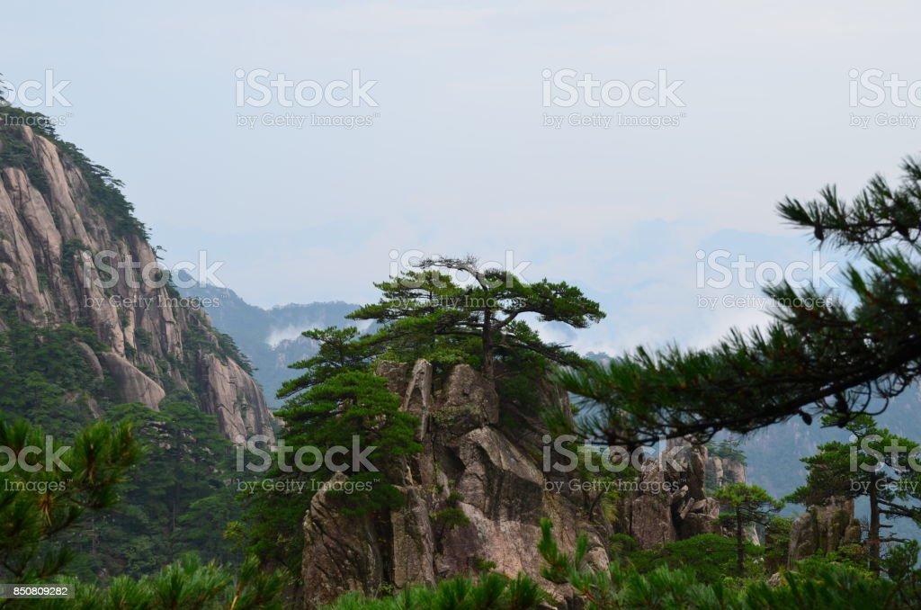 Yellow Mountains, China stock photo