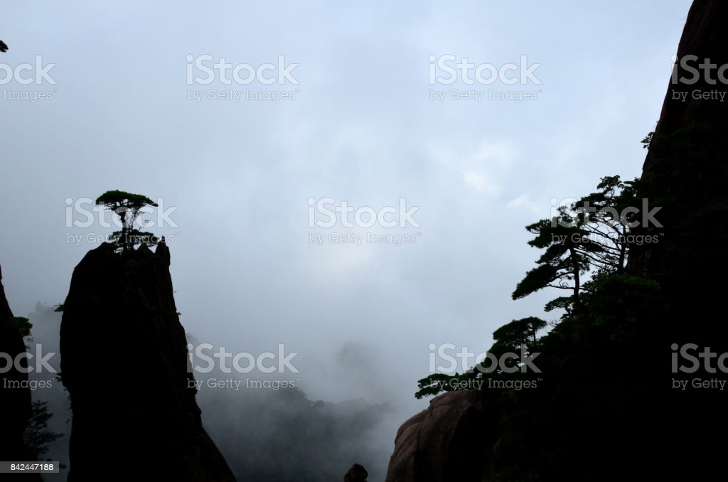 Yellow Mountains, Huangshan stock photo