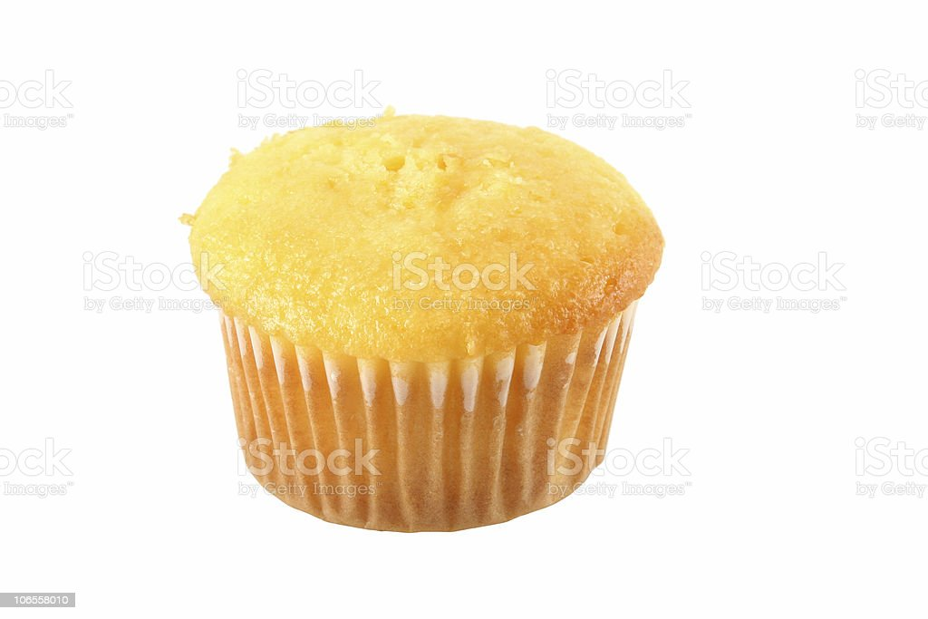 Yellow Muffin royalty-free stock photo