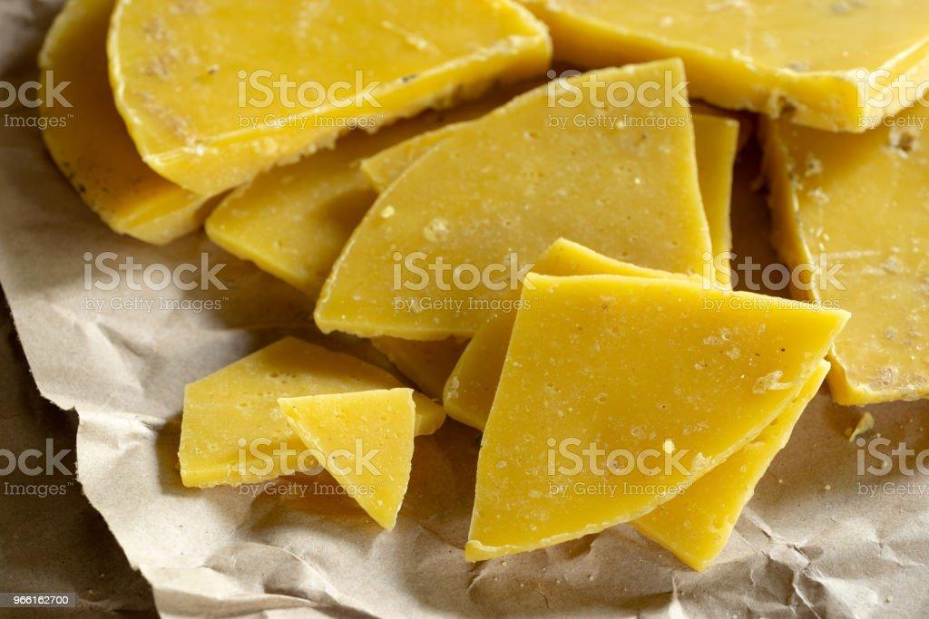 yellow natural beeswax - Royalty-free Animal Body Part Stock Photo