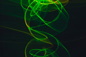 Abstract black background. Neon lights texture.