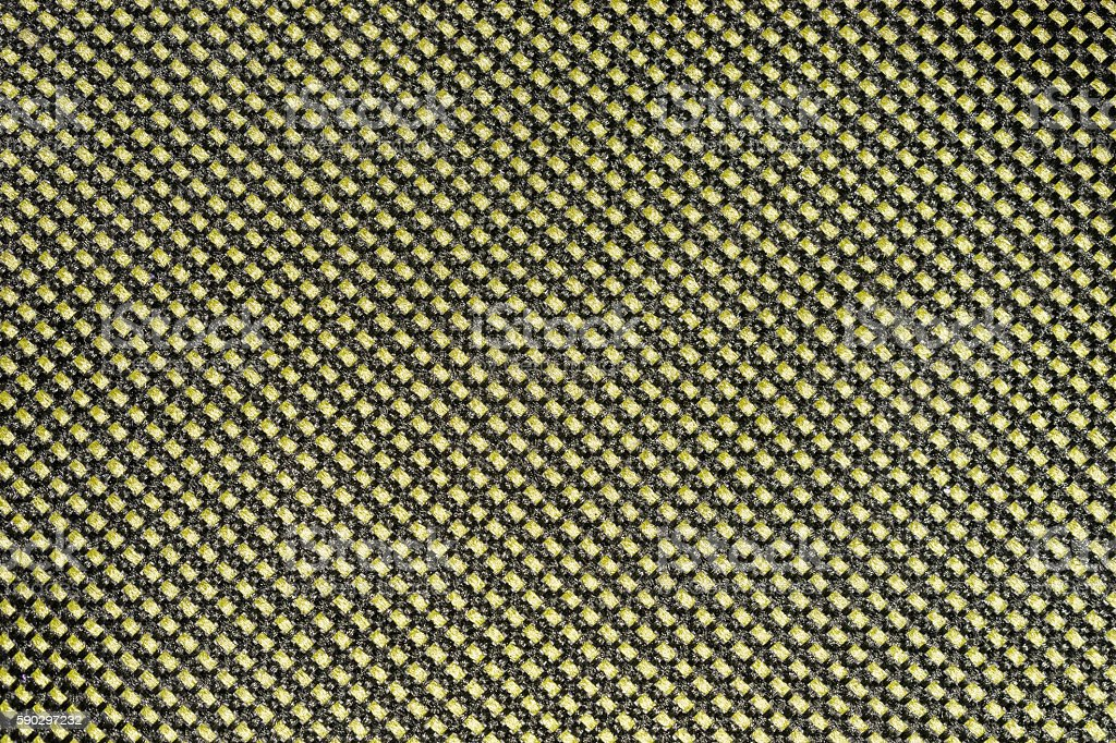 Yellow Nylon texture pattern or nylon background. royaltyfri bildbanksbilder