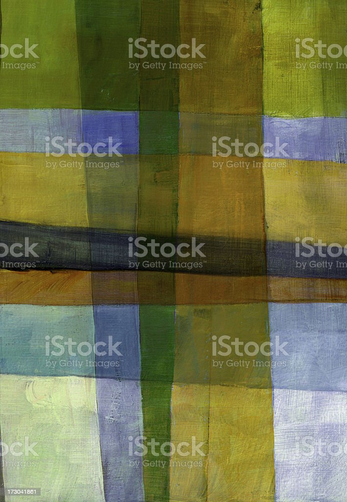 Yellow, Orange, and Green Grid royalty-free stock photo
