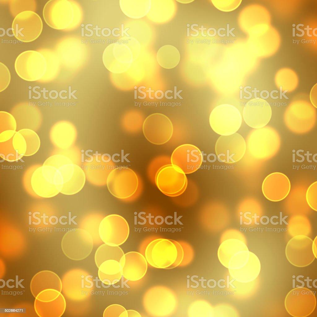 Yellow Orange Bokeh Background stock photo