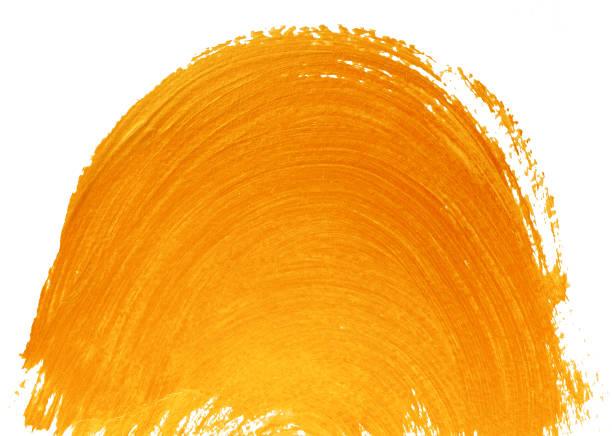 fond peint orange jaune - demi cercle photos et images de collection